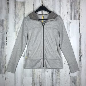 Lolë Stretch zip up hoodie size Small